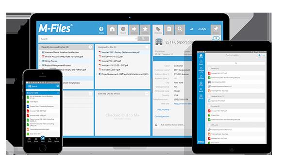 Document management systeem apparaten