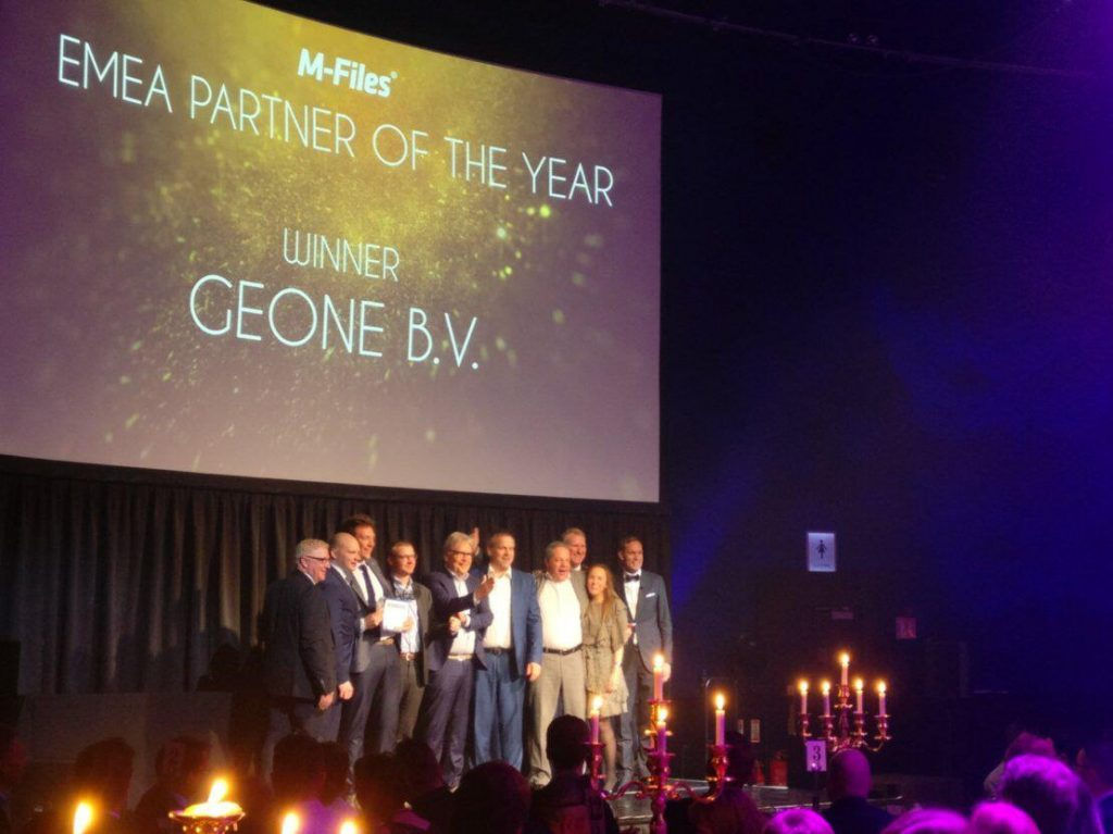 GeONE M-Files partner of the year